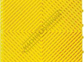 Yellow Industrial Flooring Tiles - Workshop QTY 25 Per Pack Covers 4 Square Metres - picture2' - Click to enlarge