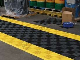 Yellow Industrial Flooring Tiles - Workshop QTY 25 Per Pack Covers 4 Square Metres - picture13' - Click to enlarge