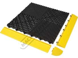 Yellow Industrial Flooring Tiles - Workshop QTY 25 Per Pack Covers 4 Square Metres - picture3' - Click to enlarge