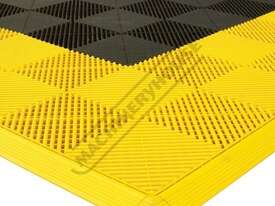 Yellow Industrial Flooring Tiles - Workshop QTY 25 Per Pack Covers 4 Square Metres - picture4' - Click to enlarge