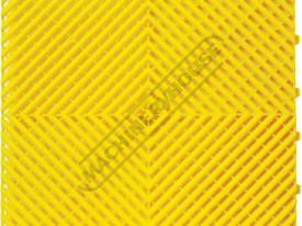 Yellow Industrial Flooring Tiles - Workshop QTY 25