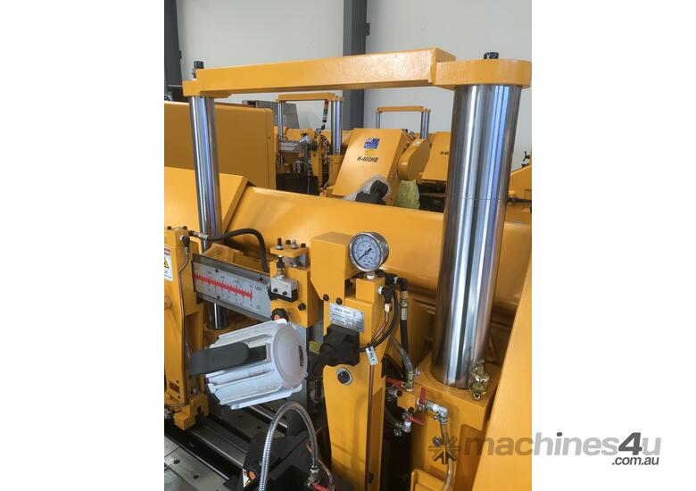 EVERISING H-460HB | FULLY AUTOMATIC| NC CONTROL | COLUMN TYPE BANDSAW | 460MM DIAMETER CAPACITY