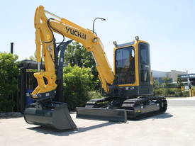 Yuchai YC55SR (Zero Swing) Mini Excavator - picture7' - Click to enlarge