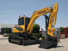 Yuchai YC55SR (Zero Swing) Mini Excavator - picture2' - Click to enlarge
