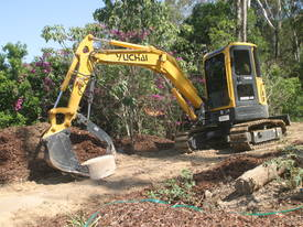 Yuchai YC55SR (Zero Swing) Mini Excavator - picture3' - Click to enlarge