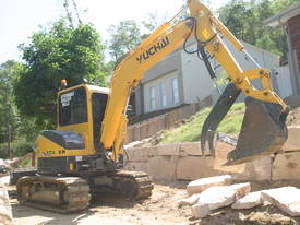 Yuchai YC55SR (Zero Swing) Mini Excavator - picture10' - Click to enlarge