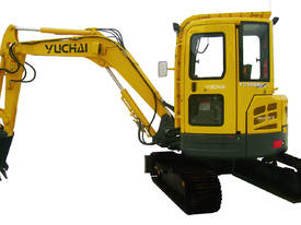 Yuchai YC55SR (Zero Swing) Mini Excavator - picture11' - Click to enlarge