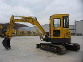 Yuchai YC55SR (Zero Swing) Mini Excavator - picture9' - Click to enlarge