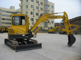 Yuchai YC55SR (Zero Swing) Mini Excavator - picture8' - Click to enlarge