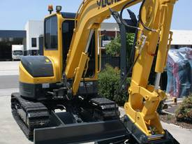 Yuchai YC55SR (Zero Swing) Mini Excavator - picture0' - Click to enlarge