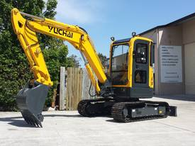 Yuchai YC55SR (Zero Swing) Mini Excavator - picture13' - Click to enlarge