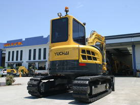 Yuchai YC55SR (Zero Swing) Mini Excavator - picture15' - Click to enlarge