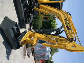 Yuchai YC55SR (Zero Swing) Mini Excavator - picture17' - Click to enlarge