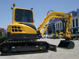 Yuchai YC55SR (Zero Swing) Mini Excavator - picture18' - Click to enlarge