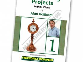 RPDVD07 Woodworking Projects DVD - Mantle Clock wi