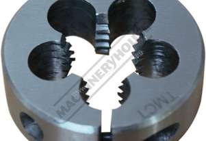 T906 HSS Button Die - Metric M6 x 1.0mm