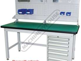 IBP-ST Industrial Backing Panel - Bench Mount 1733 x 205 x 825mm  Suits IWB-40 Work Bench - picture8' - Click to enlarge