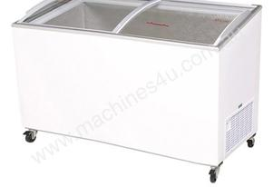 Bromic CF0500ATCG Angled Glass Top 427L Chest Freezer