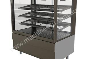 FPG 4H12-SQ-FF 4000 Series Square Heated Fixed Front Food Cabinet - 1200mm
