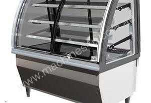 FPG 5CA08-CU-SD 5000 Series Controlled Ambient Cabinet - Curved glass - Sliding Front door - 800mm