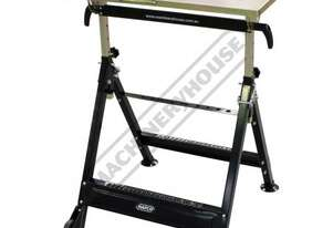 WT-01 Welding Table - Fold-Up 100kg Load Capacity 760 x 510 x 790~925mm (LxWxH)