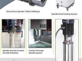 LEADWELL HIGH EFFICIENCY VERTICAL MACHINING CENTRE - picture3' - Click to enlarge