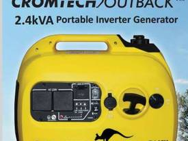 2.4Kva CROMTECH OUTBACK� INVERTER GENERATOR - picture2' - Click to enlarge