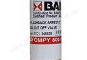 BOSSWELD 400131 FLASHBACK ARRESTOR - TORCH END