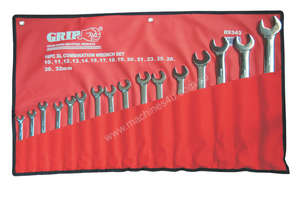 89343 - 16 PC XL COMBINATION WRENCH SET METRIC