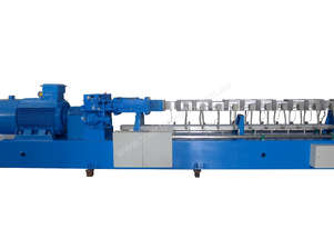 Extruding Machines for Plastics, Twin Screw