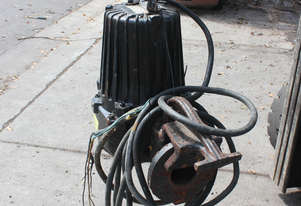 7.4kw 10hp Submersible Portable Solids Handle Pump