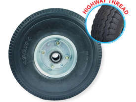 52102 - 260MM PU RUBBER FOAM FILLED PUNCTURE PROOF OFFSET WHEEL - picture0' - Click to enlarge