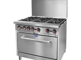 S36 - Gasmax 6 Burner with Oven