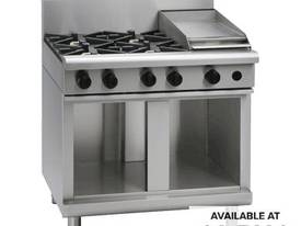 Waldorf 800 Series RNL8603G-CB - 900mm Gas Cooktop Low Back Version `` Cabinet Base - picture0' - Click to enlarge
