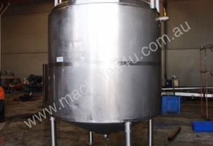 Stainless Jacketed Mixing Tank - Capacity: 6,500Lt.