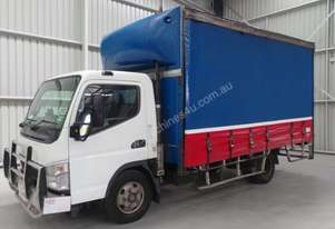 Fuso Canter Curtainsider Truck