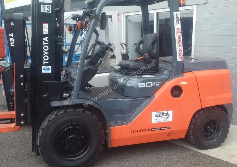 HYSTER NISSAN  TOYOTA  5TON DIESEL HIRE OR BUY