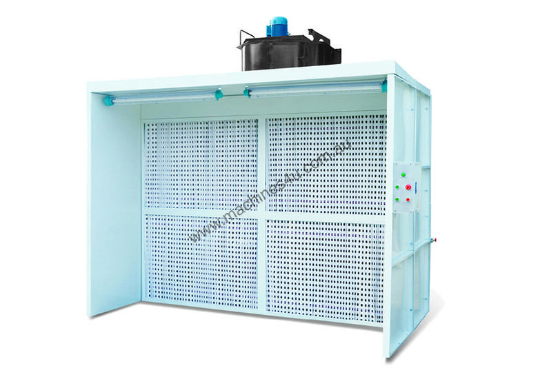 Wet Spray Booths for Industrial Painting
