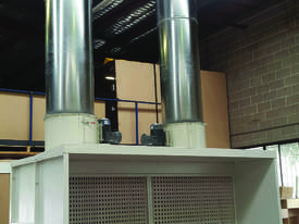 Wet Spray Booths for Industrial Painting - picture2' - Click to enlarge