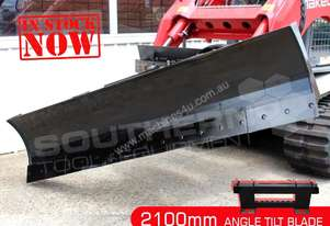 2100mm 6 Way Angle TILT Dozer Blade Suit skidsteer