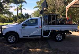 Holden Colorado 4x4 traffic control ute