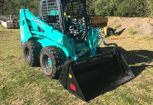 NEW 3.7 Ton Wheeled Skid Steer with 4-1 Bucket 83hp