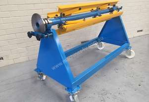 Manual Decoiler 1250 mm x 1.5 ton