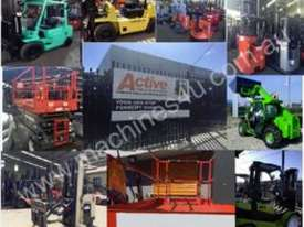Toyota Electric Forklift 5FBE18 4700mm Lift Container Entry Fresh Paint & Serviced - picture10' - Click to enlarge