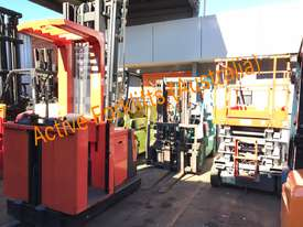 Toyota Electric Forklift 5FBE18 4700mm Lift Container Entry Fresh Paint & Serviced - picture16' - Click to enlarge
