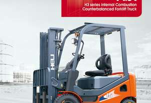 New 2016 Heli H3 Series 1 - 1.8 Tonne Counterbalance Forklift 24 Months Warranty Very Low Hours