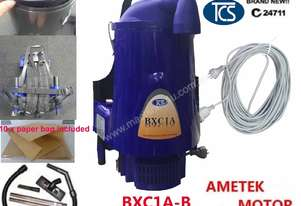 TCS Commercial Backpack Vacuum Cleaner 5L Ametek Motor 1000W + 10 FREE FILTER BAGS