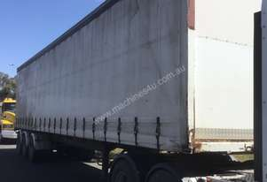 Maxicube B/D Lead/Mid Curtainsider Trailer