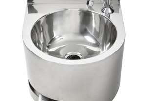 3MONKEEZ Knee Operated Thermostatic Mixing Valve 6.3 Ltr Round Hand Basin AB-KNEEHB-RTMV