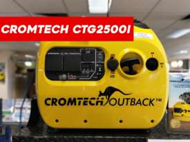 Cromtech Outback Portable Camping Generator - CTG2500i - picture1' - Click to enlarge